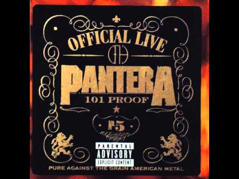 Pantera - Sandblasted Skin Live 101 proof with speech and scream from the end of 5 minutes alone