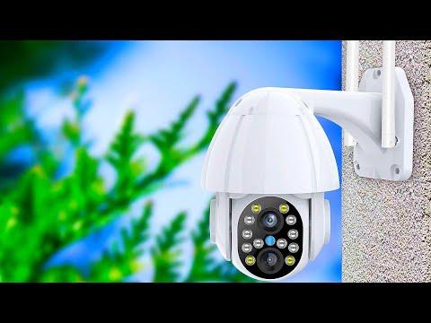 WiFi поворотная камера видеонаблюдения с двумя объективами с автоматическим отслеживанием ANBIUX