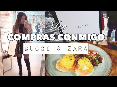 VEN CONMIGO de COMPRAS (GUCCI & ZARA) + DISFRAZ de UNICORNIO | Bstyle