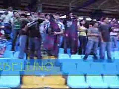 """""""BARRA TORBELLINO EN EL MONUMENTAL"""" Barra: Guerreros Chaimas • Club: Monagas"""