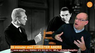 Dracula och det upp och nervända korset - 29 minuter med Christer Åberg