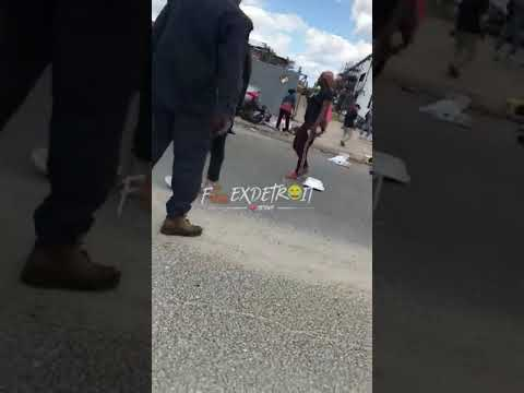 SMH: Horrible Pile Up In Southwest Detroit :(