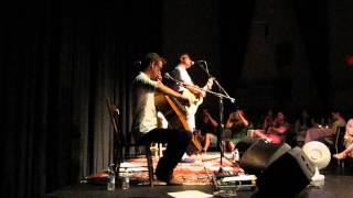 The Chorus Girl (live) - Steven Page & Kevin Fox