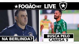 LIVE - Botafogo mantém Marcelo Chamusca como técnico e busca centroavante no mercado