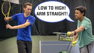 Arguing with my Tennis Coach