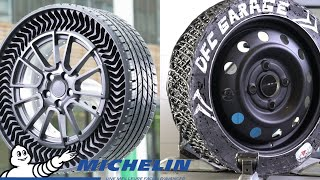 I've  made an Airless Tire like Michelin UPTIS, using windshield sealant