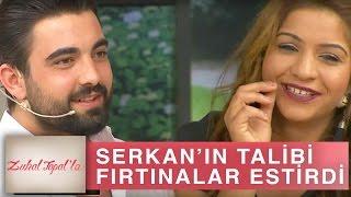 Zuhal Topal'la 190. Bölüm (HD) | Serkan'ın Talibi Fatma Stüdyoya Bir Geldi Fırtınalar Estirdi!