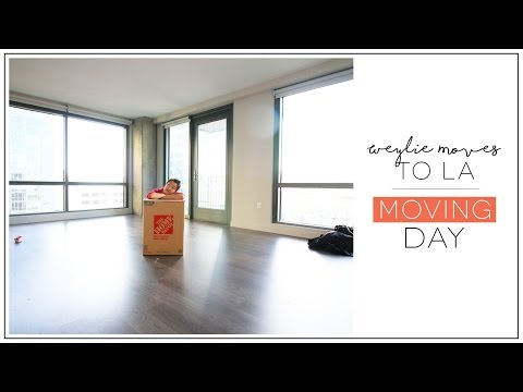 Weylie Moves to Los Angeles | Moving Day | ilikeweylie