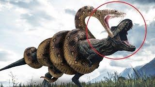 5 जानवर जो डायनासोर से भी खतरनाक हैं 5 Scariest prehistoric animals of all time