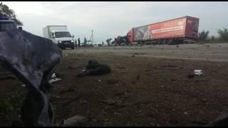 Видео с места аварии