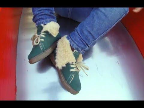Botas Pelo tipo Borreguito para Niños | Bota de invierno a la moda Pisamonas