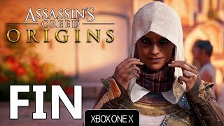 assassins creed origins fr fin  xbox one x  4k
