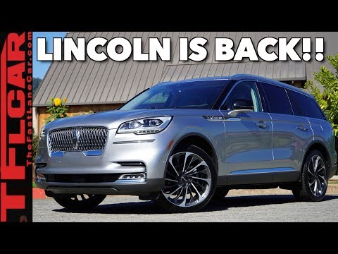 External Review Video 1CUR_Q04Gls for Lincoln Aviator & Aviator Grand Touring Crossover SUV (2nd gen)