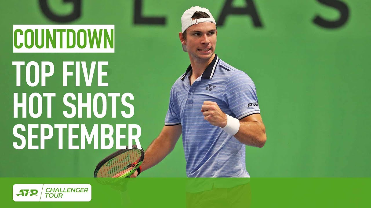 Топ-5 ярких ударов месяца на турнирах ATP Challenger Tour (ВИДЕО)