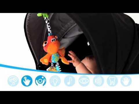 Playgro Dingly Danglys Kinderwagen Spielzeug