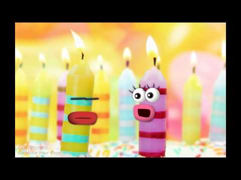Verjaardags Kaarsen - Happy Birthday