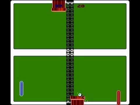 Pong 198x - Новая игра на NES (2014). Непредсказуемый Пинг-Понг...
