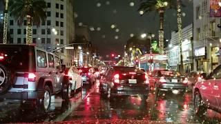 XXXTENTACION - SAD! while driving in the rain at night