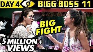 Hina Khan Vs Shilpa Shinde BIG FIGHT | Bigg Boss 11 Day 4 - Episode 4 | 5th October 2017 Full Update