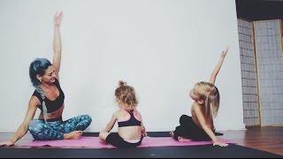 Regangkan Tubuh Bersama Anak dengan Gerakan Yoga