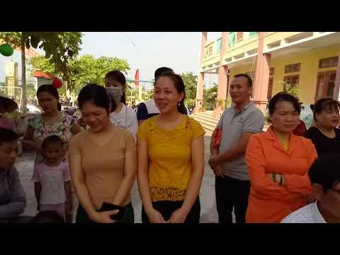 Lễ khai giảng trường Mầm non Phú Lương năm học 2019-2020