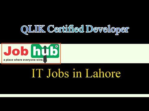 QLIK Certified Developer | IT Job | IT Developers - YouTube