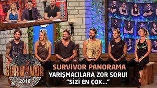 Yarışmacılara zor soru! 'Sizi en çok hangi konuda eleştirmişizdir?'| Survivor Panorama
