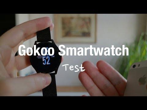 GOKOO Smartwatch Fitness Tracker Test (IP67 Wasserdicht mit Pulsmesser)
