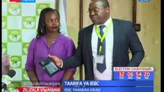 Zilizala uwanjani: IEBC watoa taarifa ya mfuko wa kupiga kura