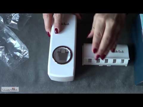 Distributore automatico di dentifricio e set porta-spazzolini - iLifeTech