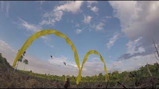 Segundo dia de Treino Drone Racing