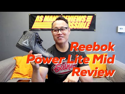 Reebok Power Lite Mid Powerlifting Shoe Review