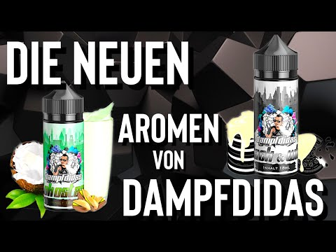 YouTube Video zu Dampfdidas Kokostazie Longfill Aroma 18 ml für 120 ml
