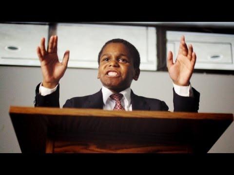 11letý kazatel Ezekiel Stoddard