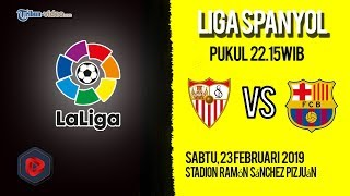 Live Streaming dan Jadwal Pertandingan Sevilla Vs Barcelona di HP via MAXStream beIN Sports