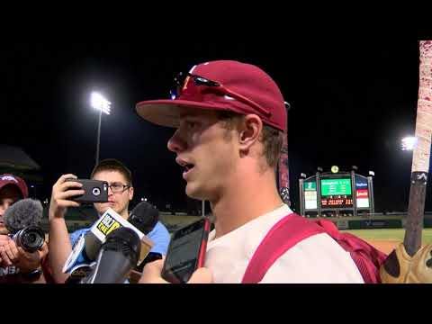 Casey Martin interview after 17-3 win over Grambling in NLR