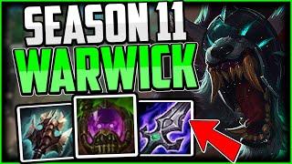 New UNSTOPPABLE Warwick Build! Warwick Jungle Guide Season 11 - League of Legends