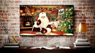 Именное видеопоздравление от Деда Мороза 2016 / winter.lv