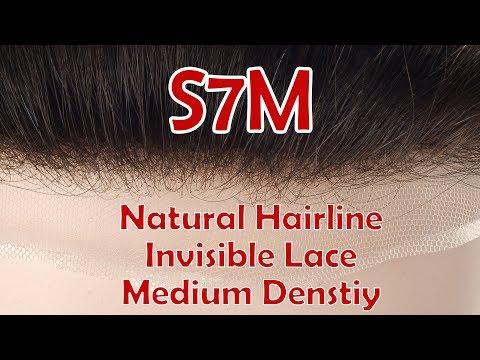 S7M Stock Medium Density Lace Hair System