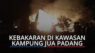1 Warga Tewas akibat Kebakaran di Kampung Jua Padang, Terjebak Api saat Selamatkan Sesuatu