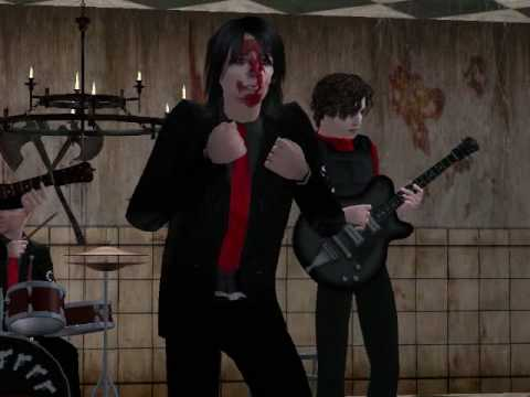 My Chemical Romance - I Never Told You What I Do For A Living (Sims 2)