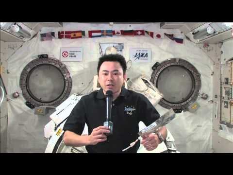 Aki Answers from ISS