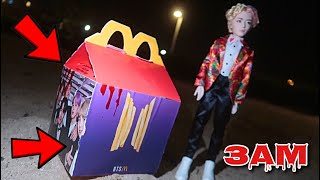 DO NOT ORDER THE BTS HAPPY MEAL AT 3AM!! *BTS MEAL IS SCARY*