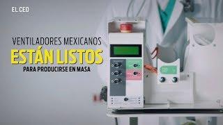 Ventiladores mexicanos están listos para producirse en masa