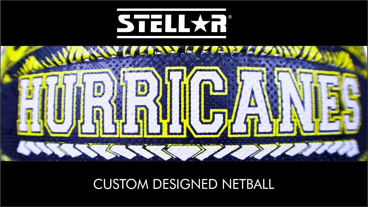 Custom Designed Netball Ball
