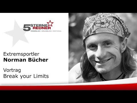 Extremsportler Norman Bücher: Vortrag Break your Limits