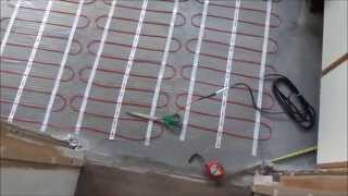 How To Install Underfloor Heating And Tile With Large Porcelain Tiles