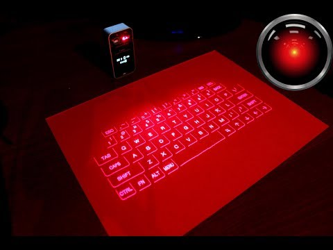 Laser projection keyboard review
