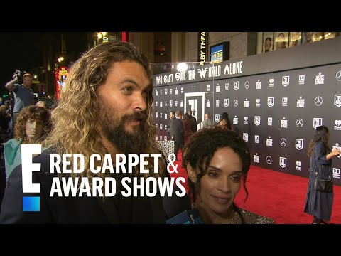 Jason Momoa & Lisa Bonet Talk Newlywed Life Logistics | E! Live from the Red Carpet