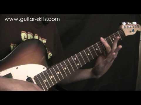 Learn to play Bar Chords - www.guitar-skills.com